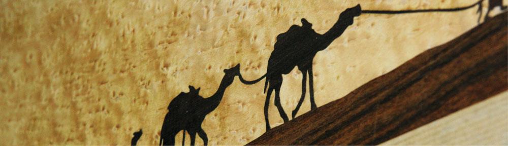 Marqueterie : tableaux et objets de Cécile Fouquet